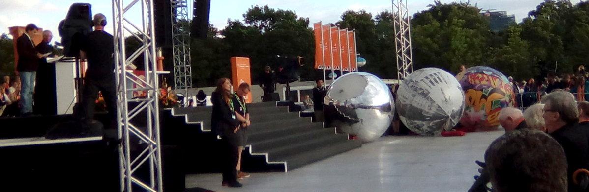 #Kirchentag Reichstag Eröffnungsgottesdienst