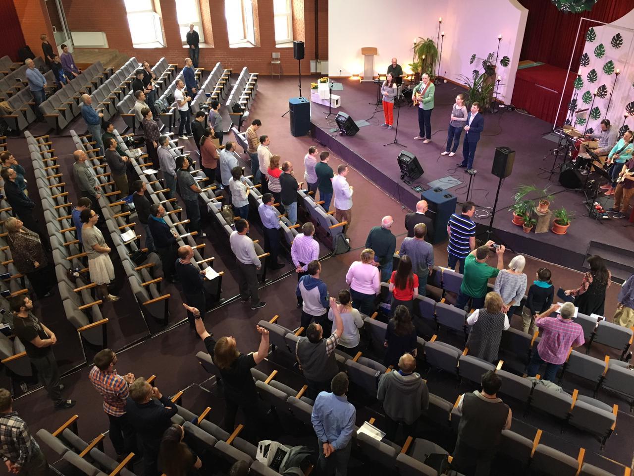 Moskau Selenograd Baptisten Pastorenkonferenz