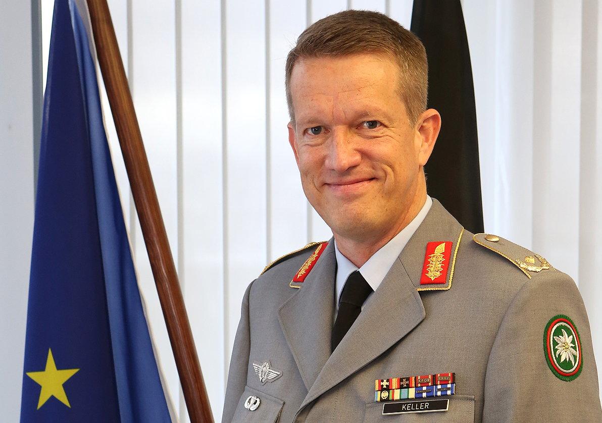 Kommandeur der Gebirgsjägerbrigade 23, Maik Keller, zum Brigadegeneral befördert