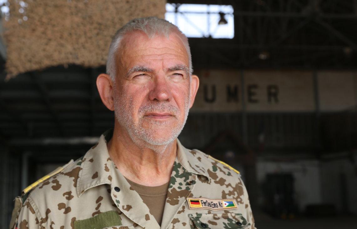 Bundeswehr Dschibuti Fregattenkapitän Gert Krause