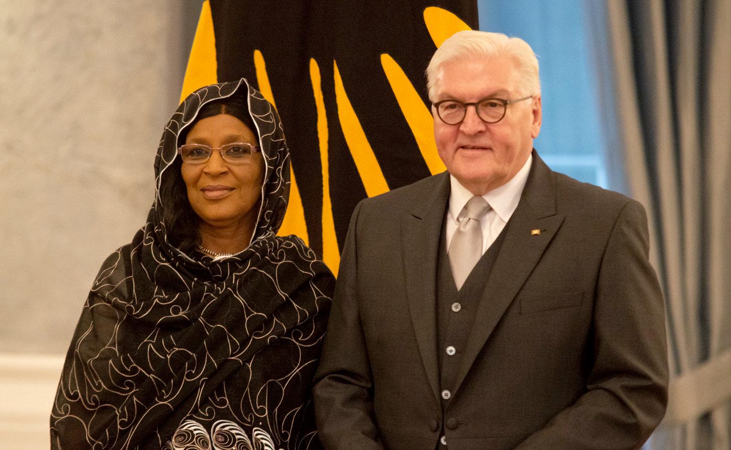 Botschafterin akkreditiert Tschad Mariam Ali Moussa