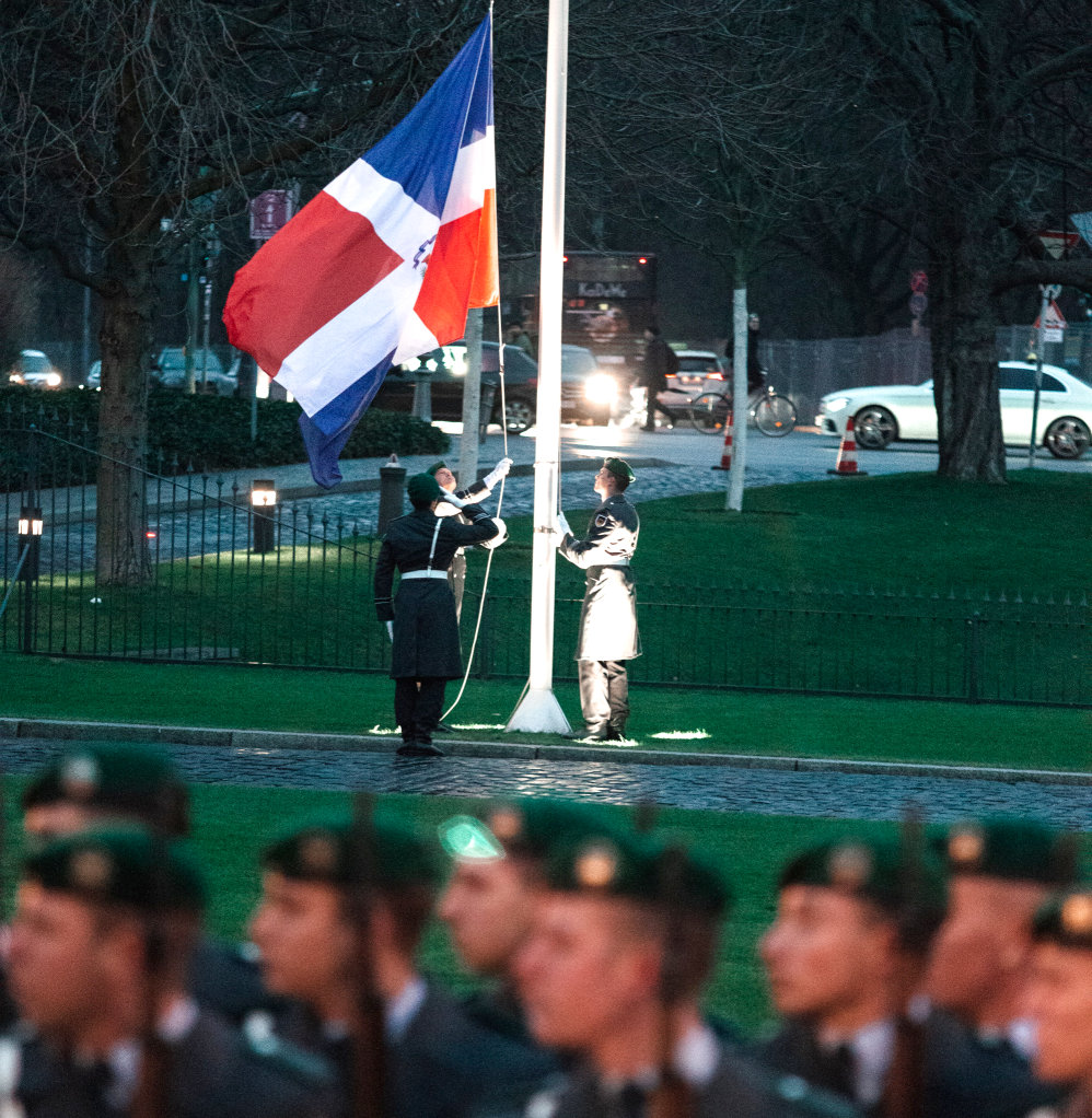 Botschafterin akkreditiert Dominikanische Republik Maibe Altagracia Sánchez Caminero de Calventi