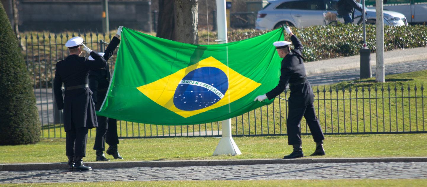 Botschafter akkreditiert Brasilien Roberto Jaguaribe Gomes de Mattos