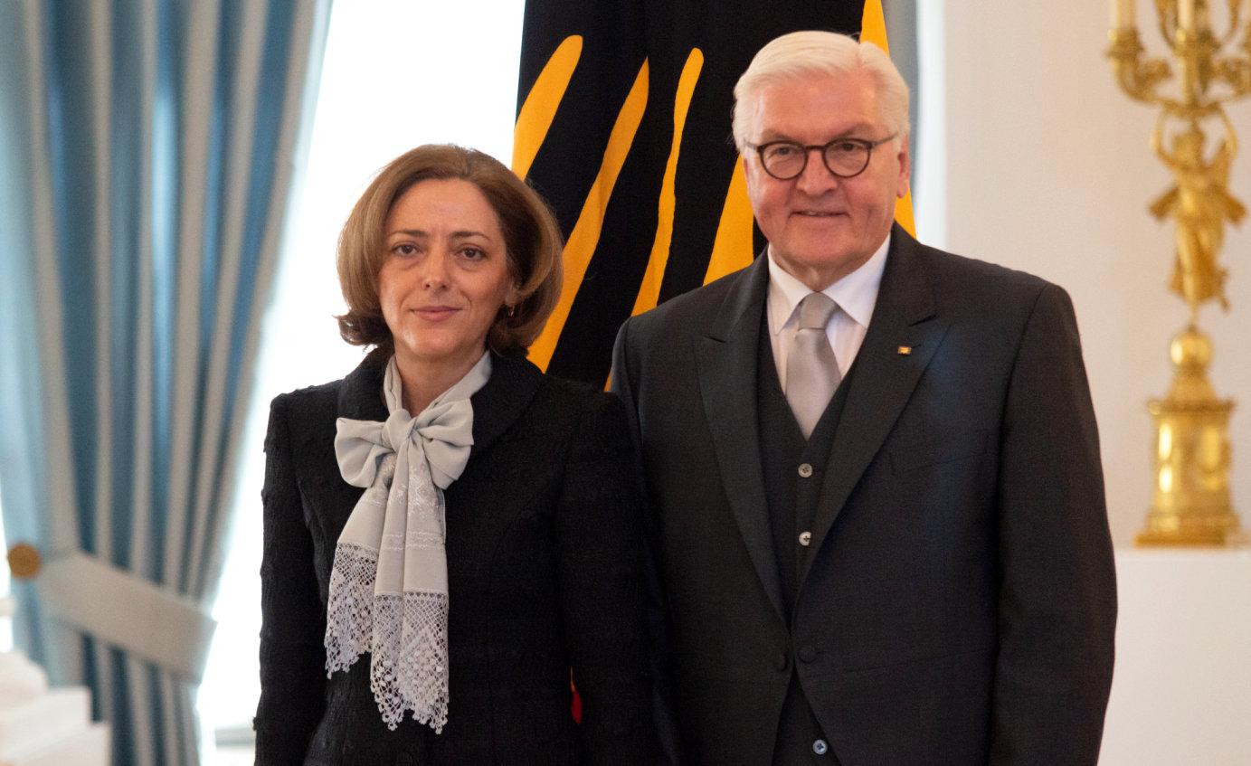 Botschafterin akkreditiert Bulgarien Elena Radkova Shekerletova