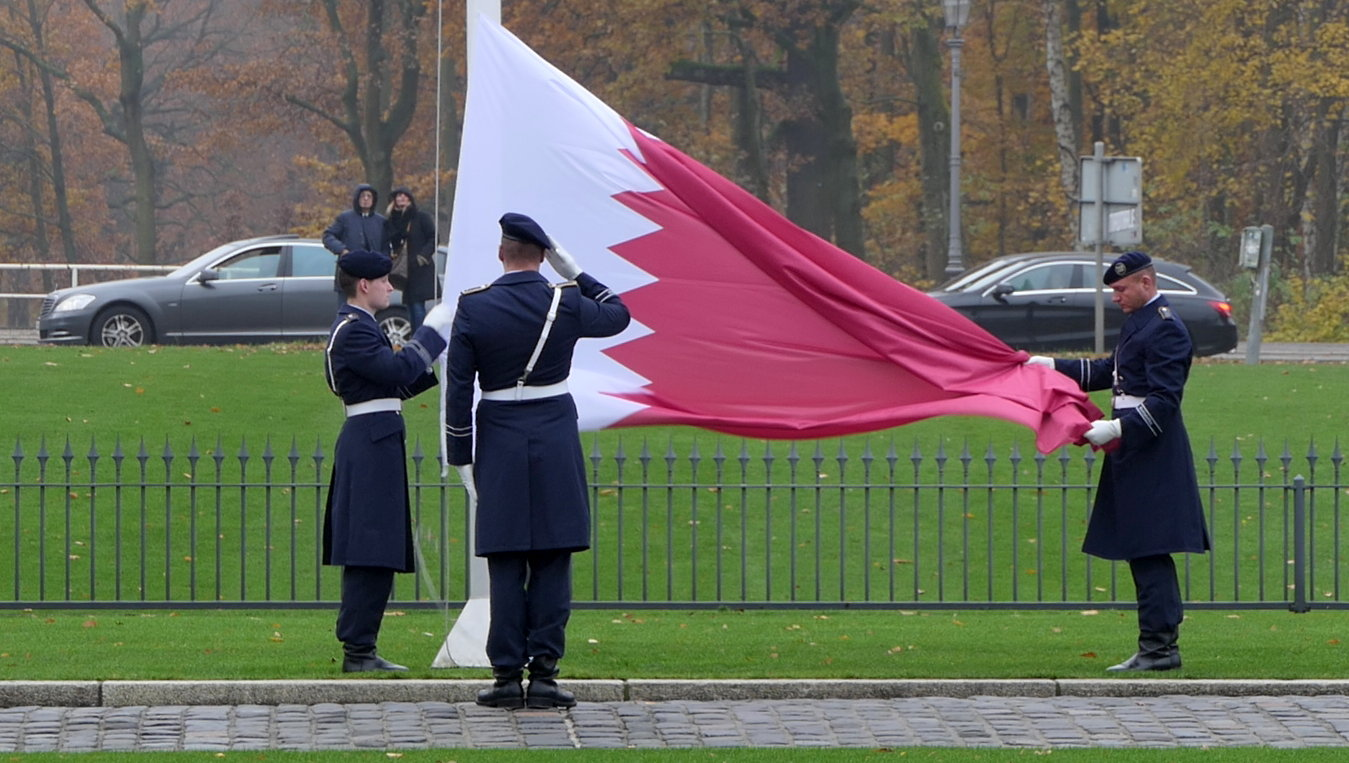Botschafter akkreditiert Katar Mohammed bin Jaham Al-Kuwari