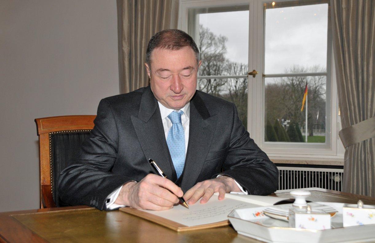 Botschafter Turkmenistans akrreditiert: Berdimurat Redjepov