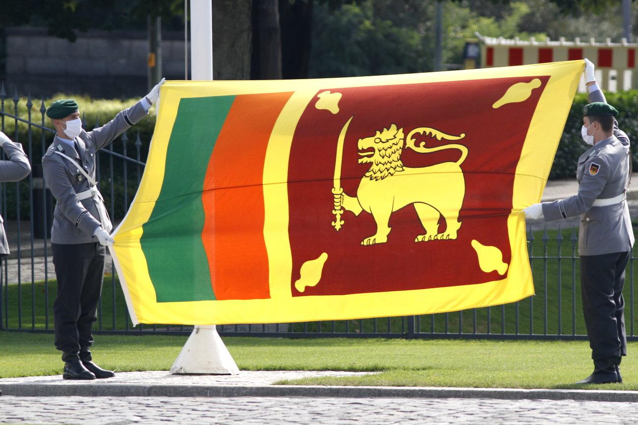Botschafterin der Demokratischen Sozialistischen Republik Sri Lanka, Manori Premila Unambuwe, bei Bundespräsident Frank-Walter Steinmeier akkreditiert