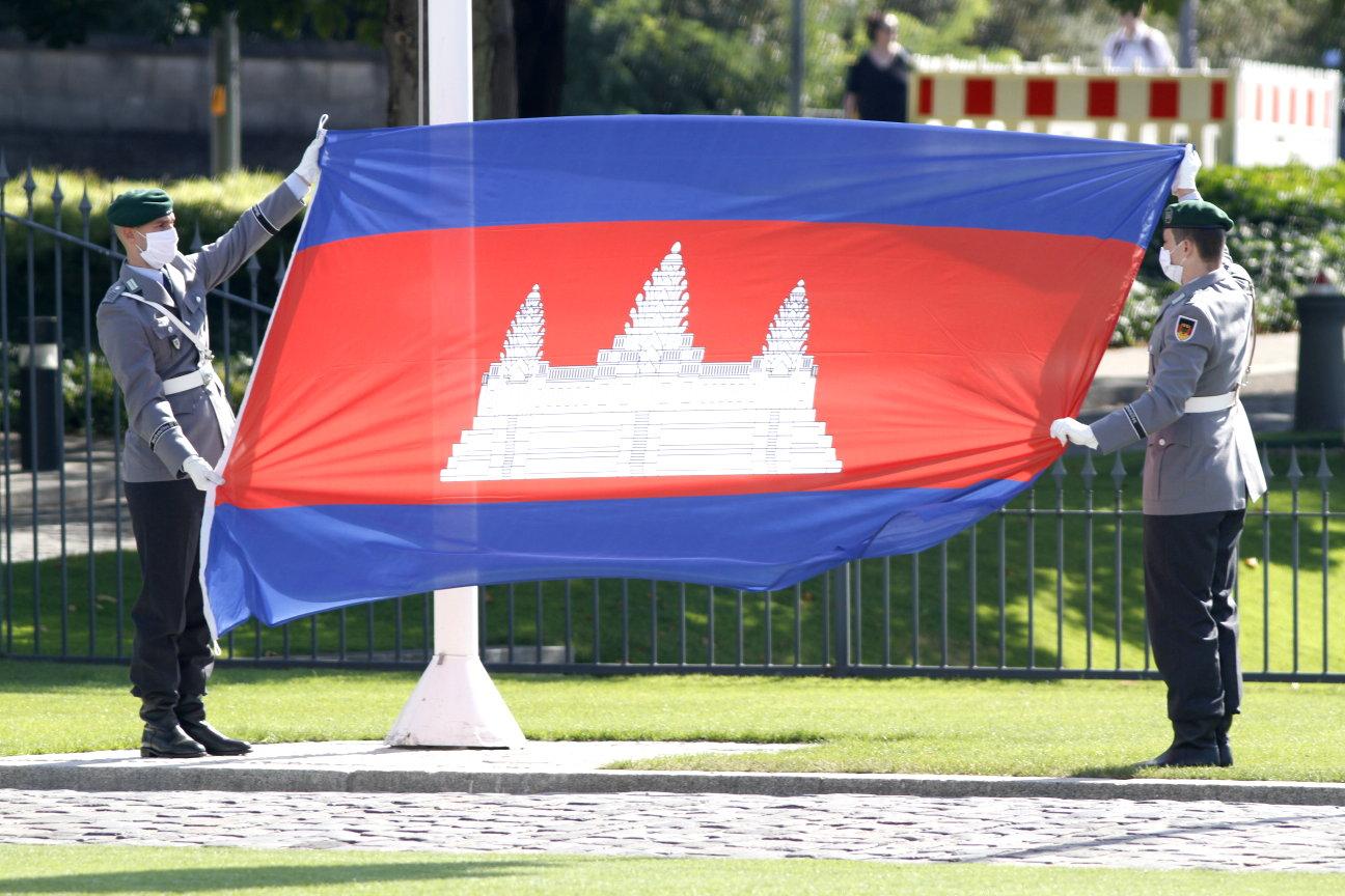 Botschafterin des Königreichs Kambodscha, Phen Savny, bei Bundespräsident Frank-Walter Steinmeier akkreditiert