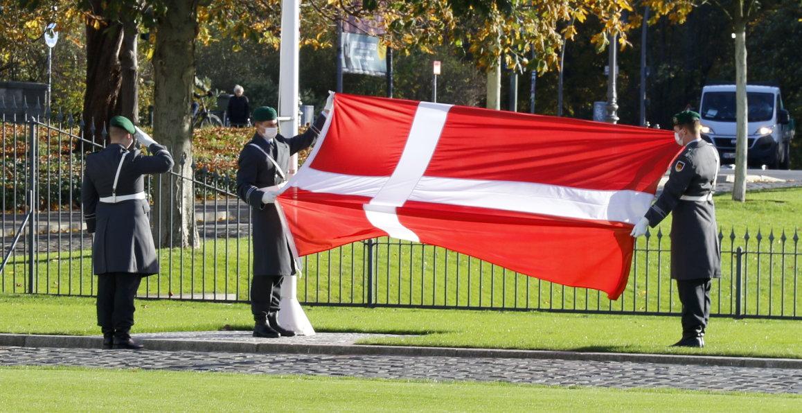 Botschafterin des Königreichs Dänemark, Susanne Christina Hyldelund, bei Bundespräsident Frank-Walter Steinmeier im Schloss Bellevue akkreditiert