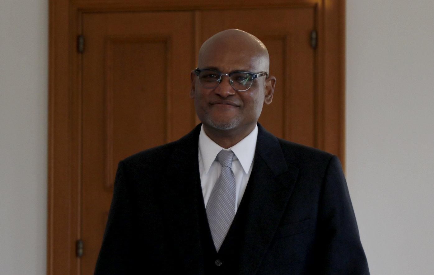 Botschafter der Republik Cabo Verde, Emanuel Henrique Semedo Duarte, bei Bundespräsident Frank-Walter Steinmeier im Schloss Bellevue akkreditiert