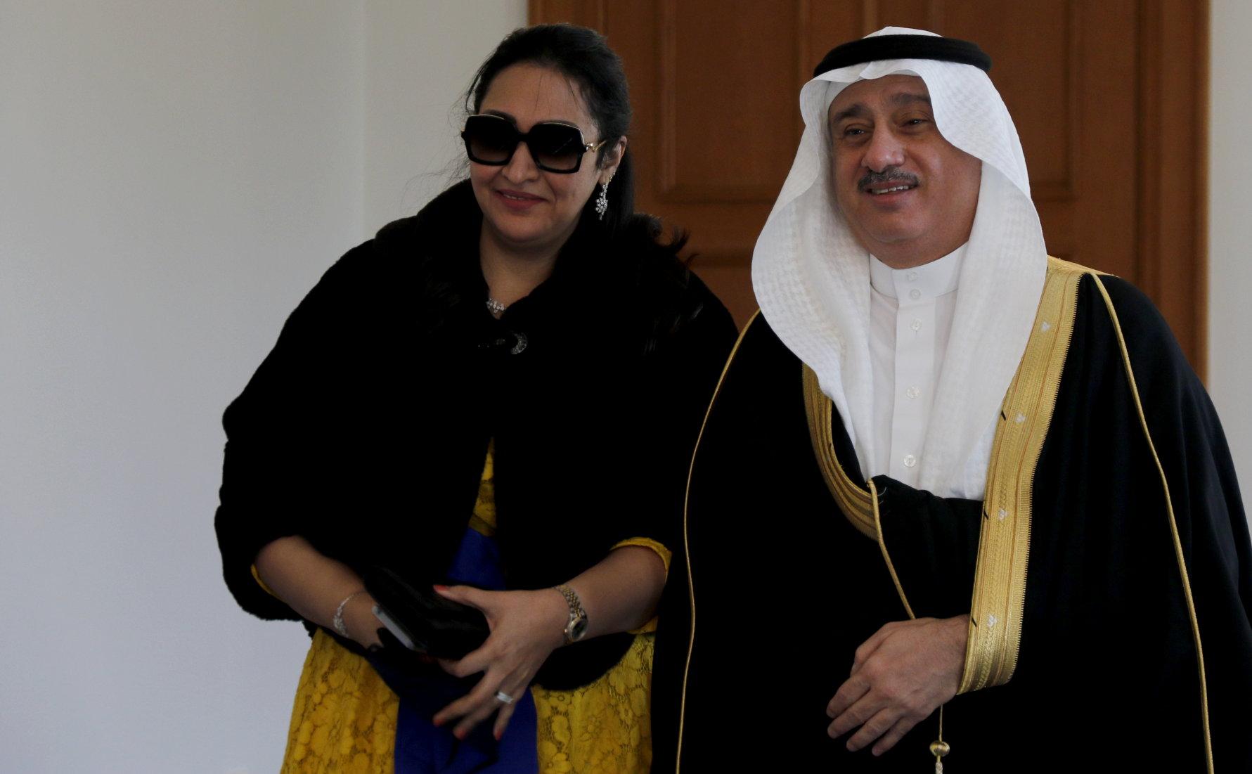 Botschafter des Königreichs Saudi-Arabien, Essam Ibrahim H. Baitalmal, bei Bundespräsident Frank-Walter Steinmeier im Schloss Bellevue akkreditiert