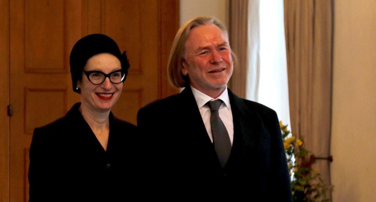 Botschafter von Australien, Philip Victor Green, bei Bundespräsident Frank-Walter Steinmeier im Schloss Bellevue akkreditiert