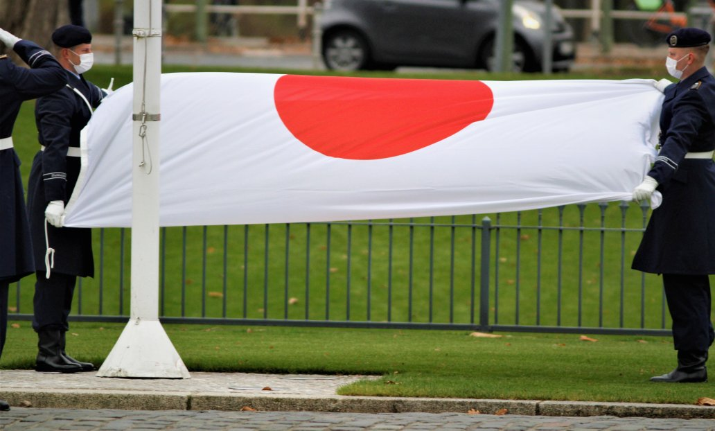 Botschafter von Japan, Hidenao Yanagi, bei Bundespräsident Frank-Walter Steinmeier im Schloss Bellevue akkreditiert