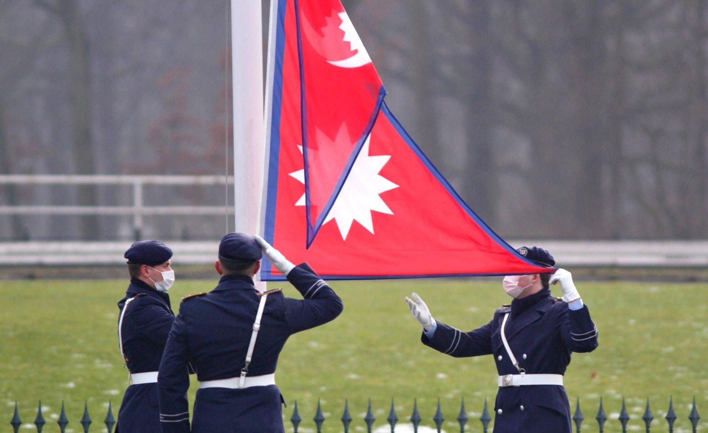Botschafter von Nepal, Ram Kaji Khadka, bei Bundespräsident Frank-Walter Steinmeier im Schloss Bellevue akkreditiert