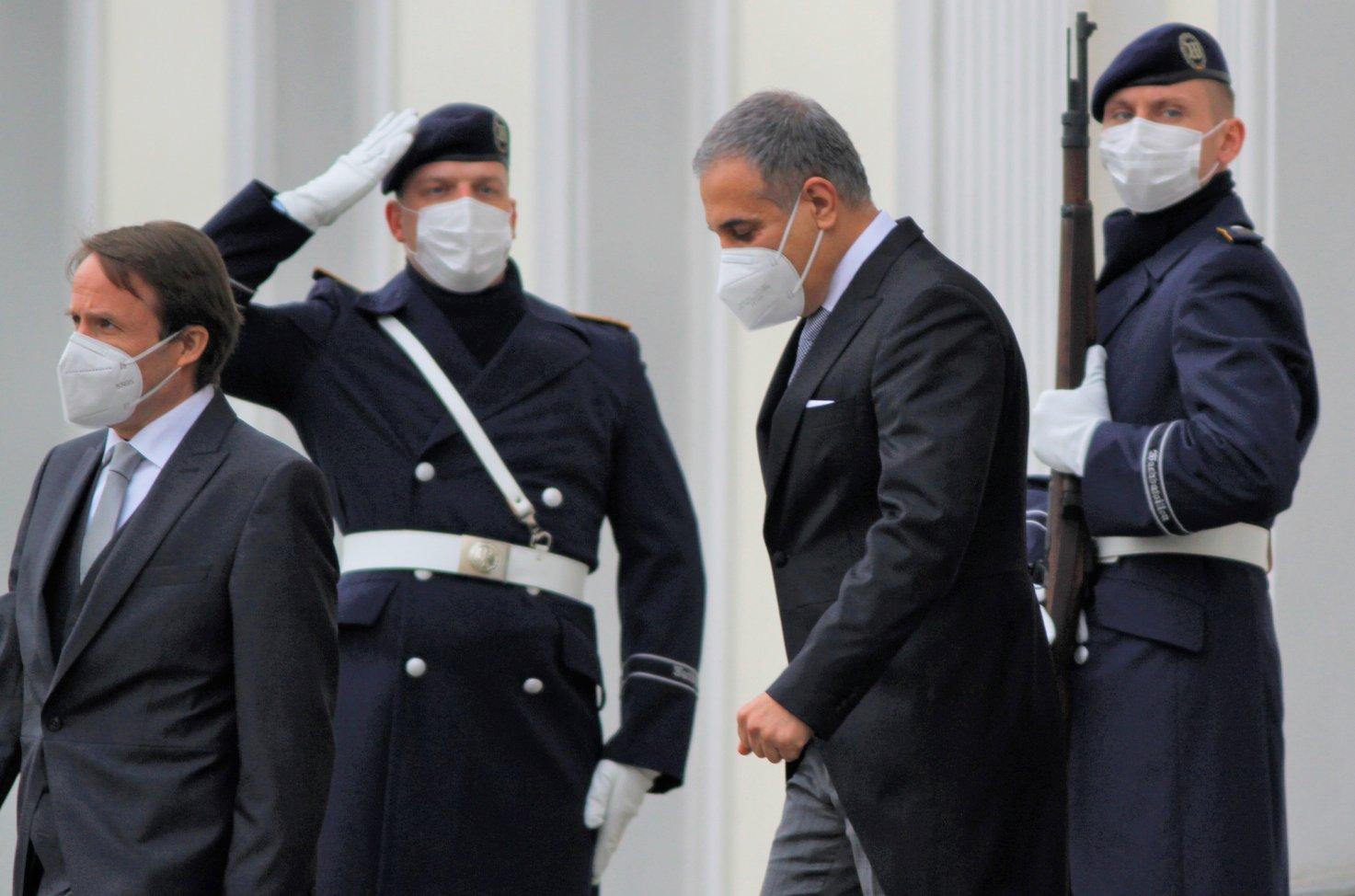 Botschafter der Islamischen Republik Afghanistan, Yama Yari, bei Bundespräsident Frank-Walter Steinmeier im Schloss Bellevue akkreditiert
