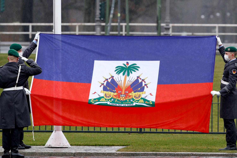 Botschafter der Republik Haiti, Frantz Bataille, bei Bundespräsident Frank-Walter Steinmeier im Schloss Bellevue akkreditiert