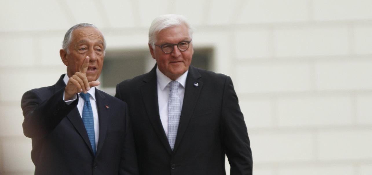 Portugal Präsident Marcelo Rebelo de Sousa Antrittsbesuch Berlin Schloss Bellevue Bundespräsident Frank-Walter Steinmeier