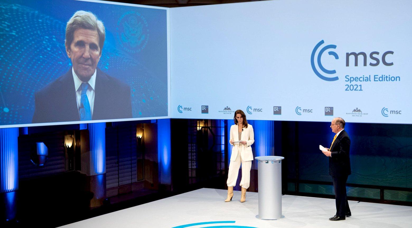 #MSC2021 Klimawandel John Kerry