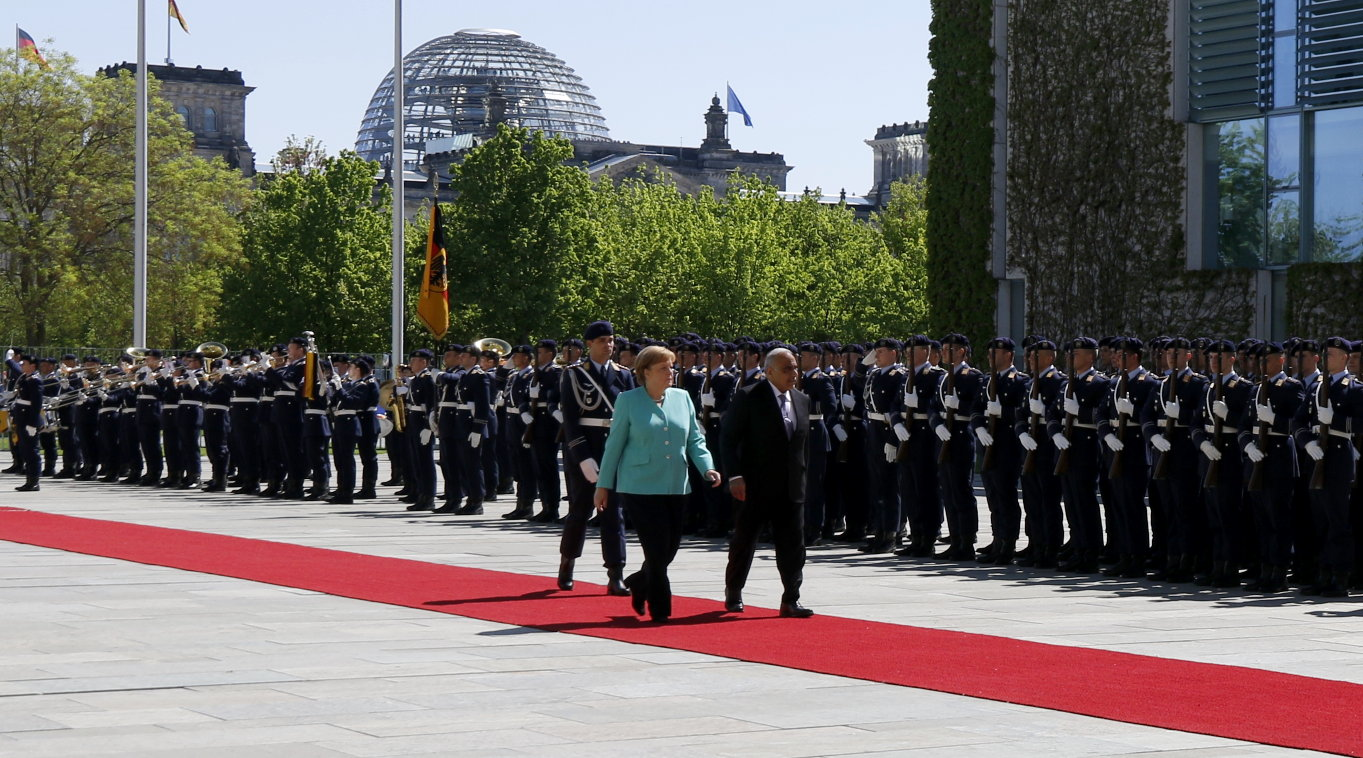 Irak Ministerpräsident Adil Abd al-Mahdi Antrittsbesuch Berlin Angela Merkel