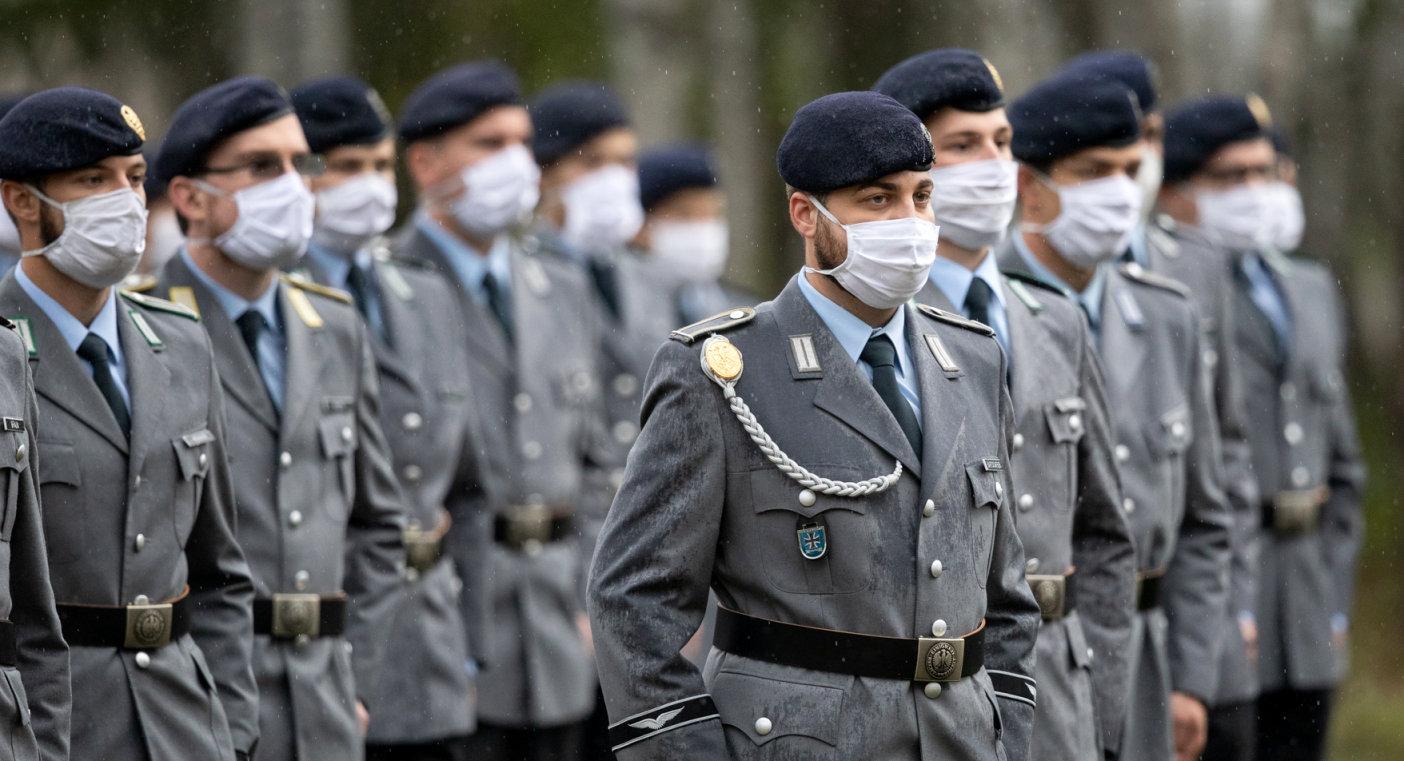 Kommandowechsel bei der Offizierschule des Heeres in Dresden