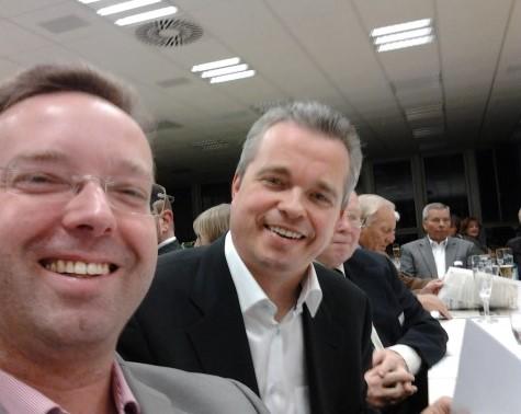 Senator Müller beim Industrietreffen Neukölln