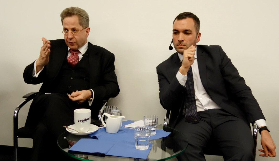 #pubtalk Musterpolizeigesetz Hans-Georg Maaßen Konstantin Kuhle